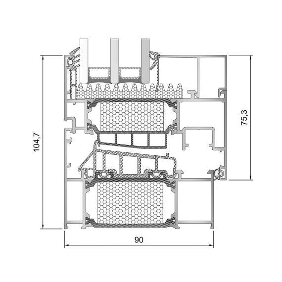 Inoform-F90-section