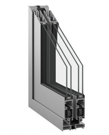 Inoform F25 thermal break sliding door profile