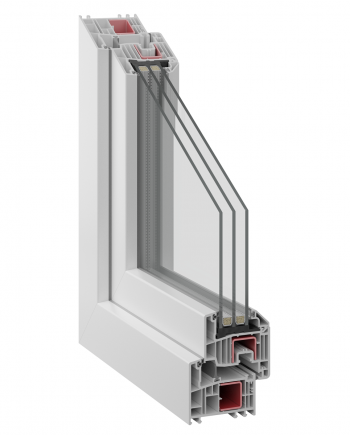 Inoform 82MD uPVC profile system