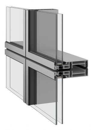 Inoform F9M modular curtain wall