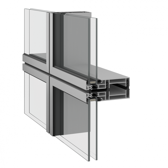 Inoform F9M modular curtain wall
